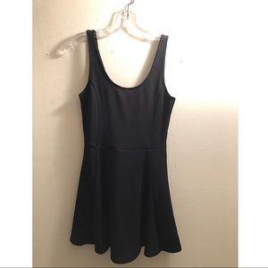 H&M Divided / Black Skater Dress
